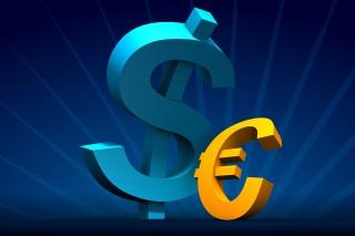 spadki euro, wzrosty na dolarze przez rosję