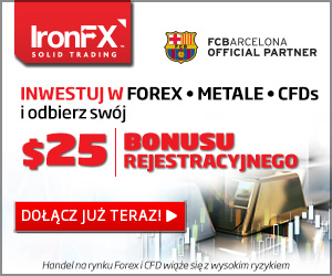 IronFX broker bonus 25$