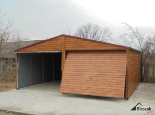 Garaż blaszany bez pozwolenia na budowę